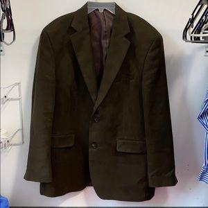 Men's suede sports coat by Ralph Lauren